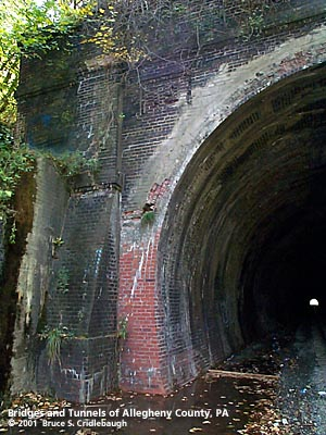 Whitehall Tunnel Bridges And Tunnels Of Allegheny County