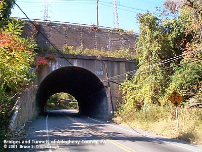 Camden Hill Tunnel Bridges And Tunnels Of Allegheny